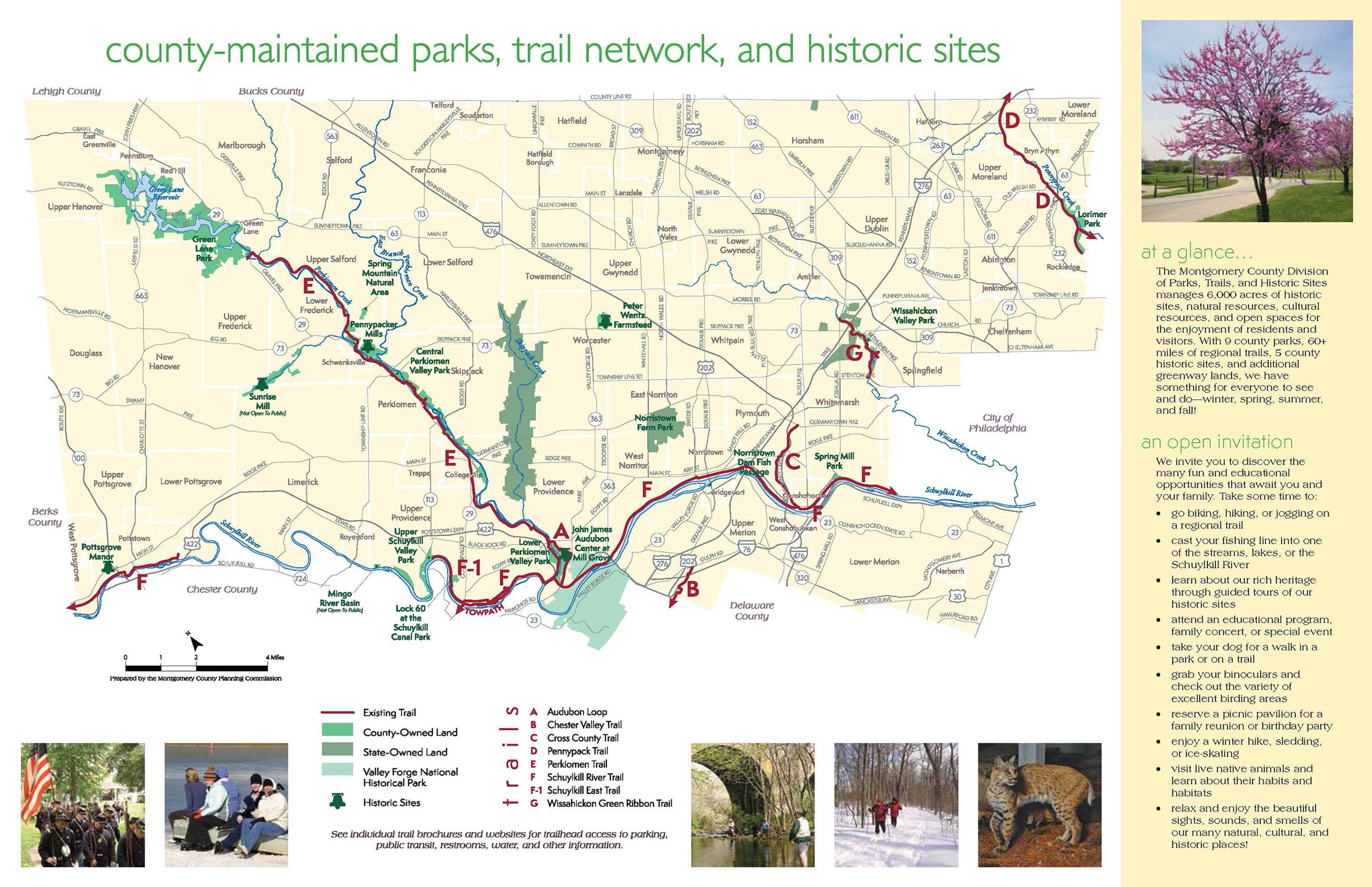 Parks, Trails, & Historic Sites | Montgomery County, PA ... on berks county, plymouth township pa map, king of prussia, lancaster county pa map, lehigh valley, tioga county pa map, fulton county pa map, monroe county pa map, allegheny county, schuylkill county, pennsylvania county map, washington county pa map, chester county road map, hazleton pa map, westmoreland county pa map, somerset county pa map, bucks county, philadelphia zip code map, washington county, north wales, philadelphia county, lehigh county pa map, wayne county pa map, lancaster county, lehigh county, delaware county, carbon county pa map, crawford county pa map, monroe county, downingtown pa map, chester county, franklin county, northampton county pa map, bucks county pa map, jenkintown pa map, lackawanna county, delaware valley,