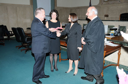 DA Fermen is sworn in