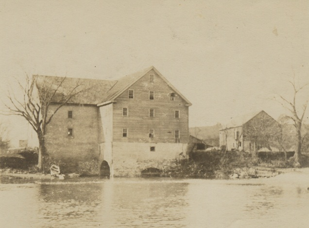 Hauseman's Mill from the Perkiomen Creek