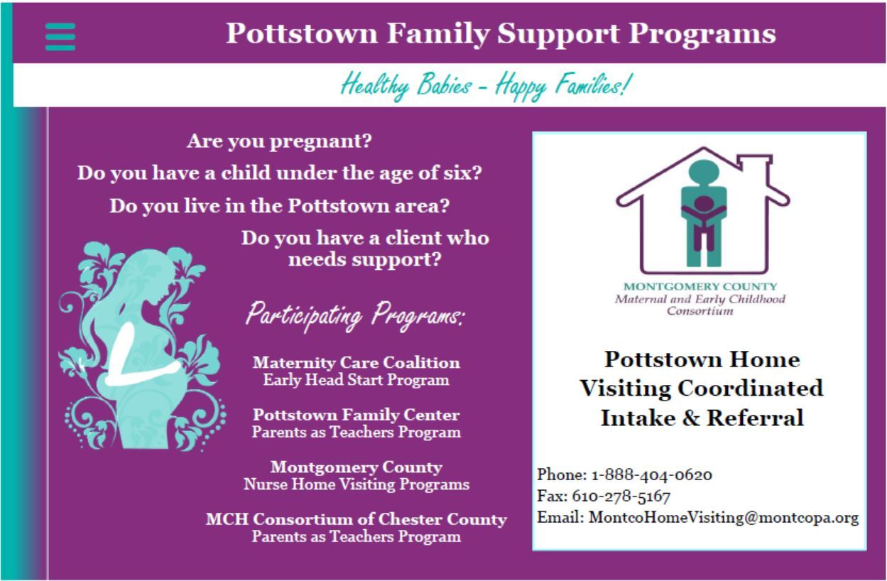 pottstown family support