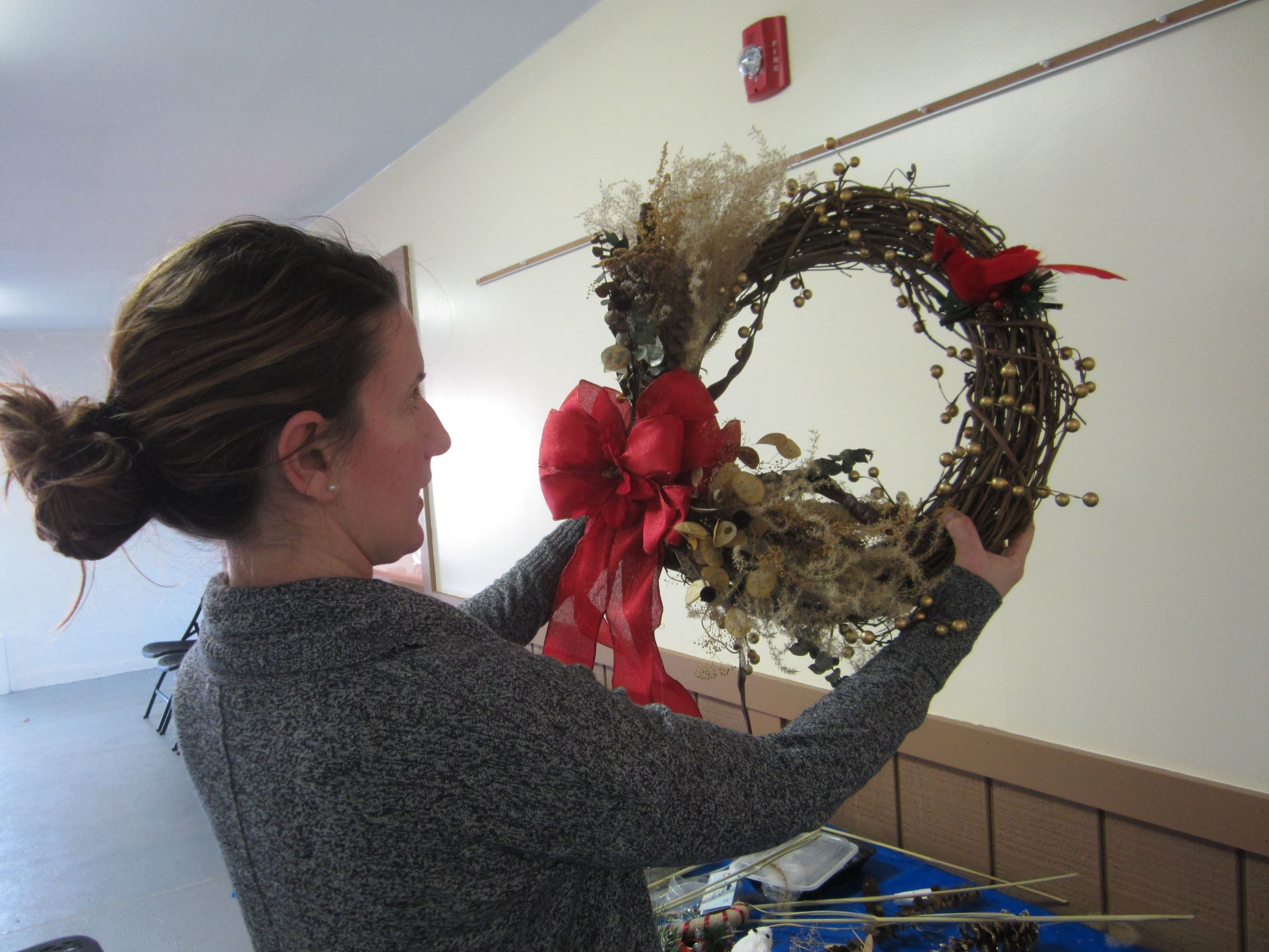 Holiday Wreath Workshop at Norristown Farm Park
