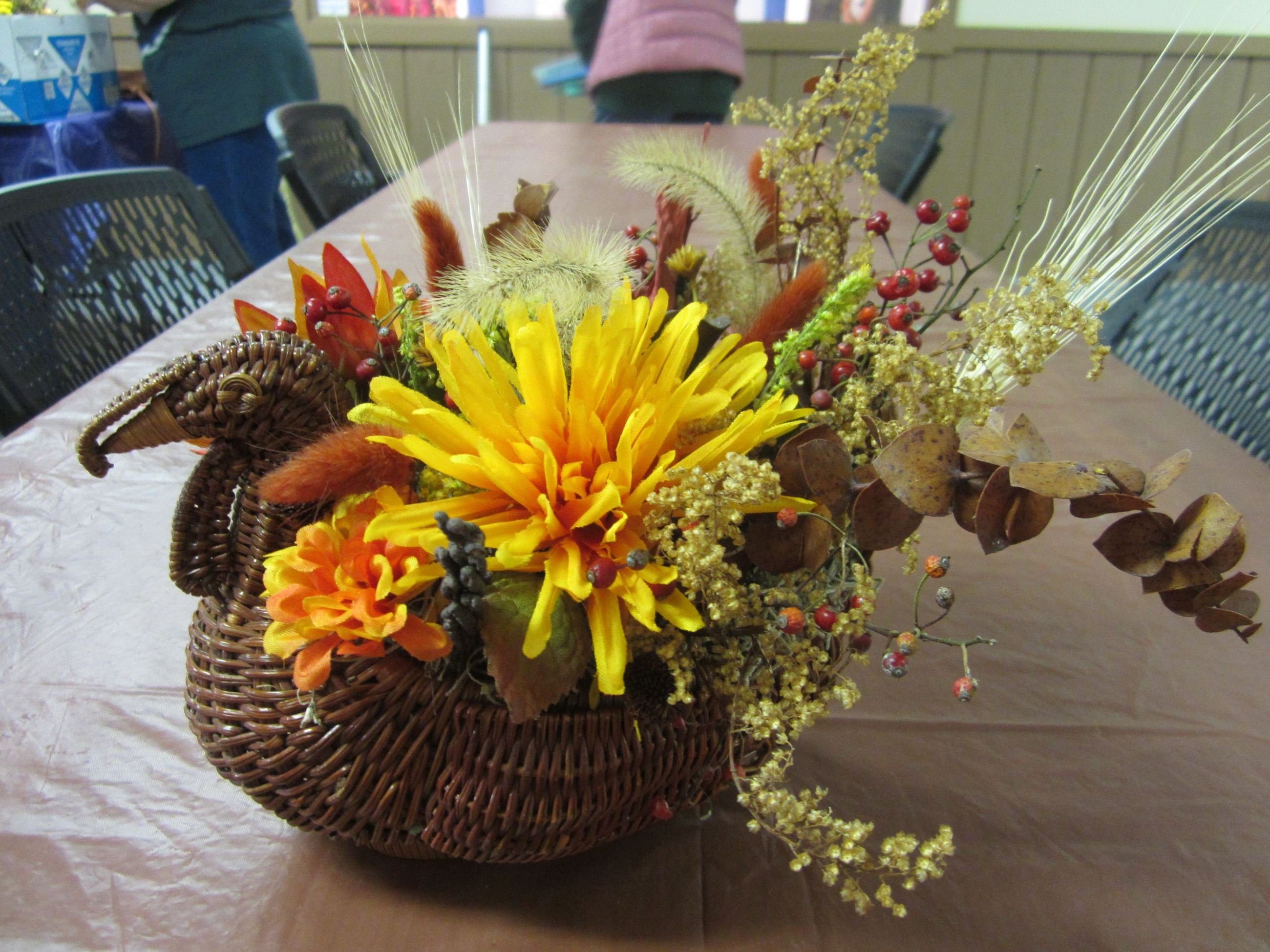 Thanksgiving Centerpiece Program at Norristown Farm Park