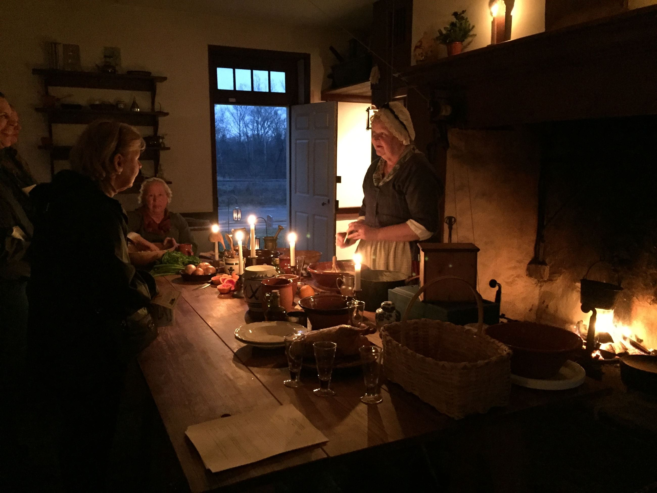 Pottsgrove Manor by Candlelight