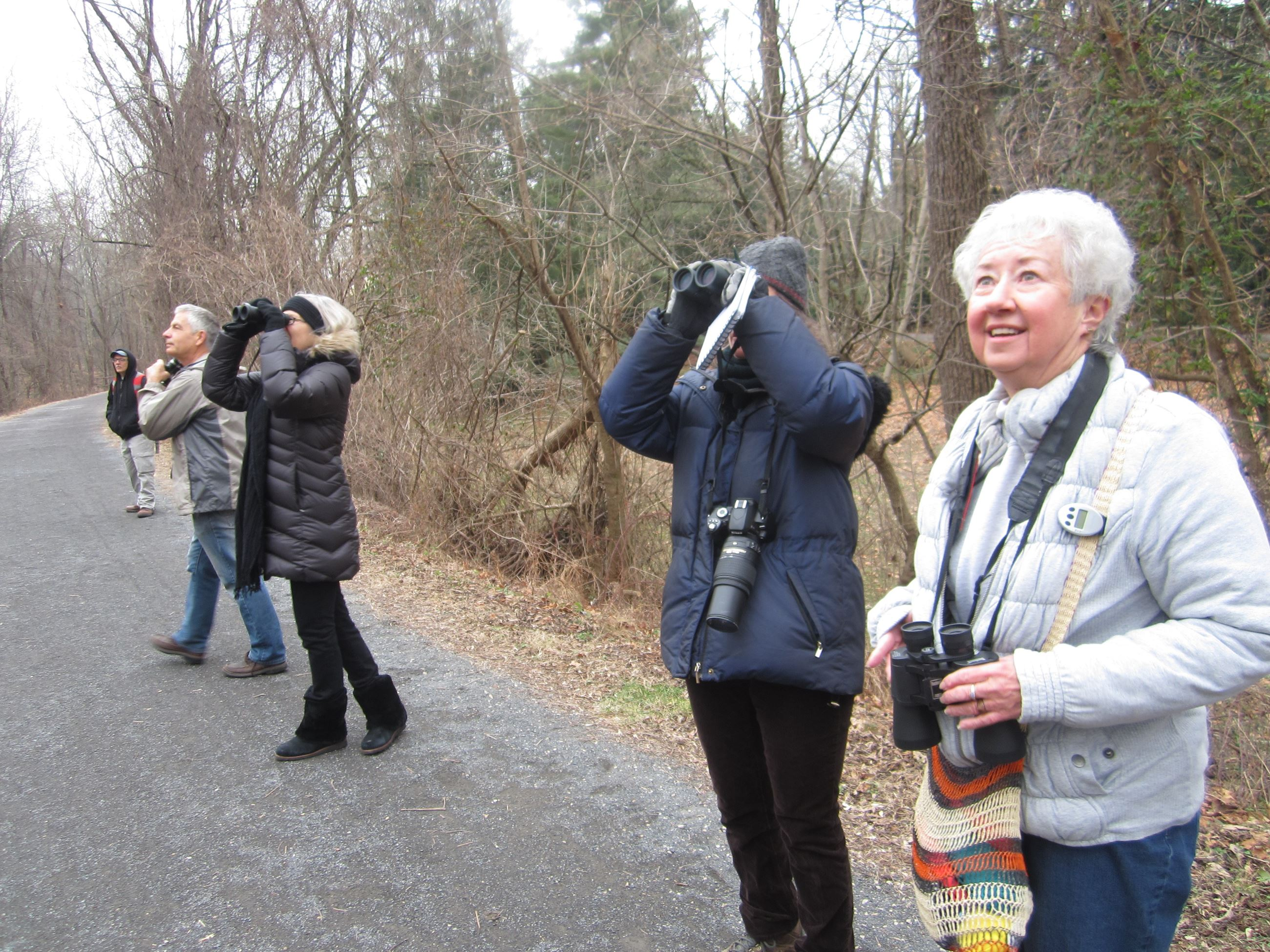 Audubon Bird Town Bird Walk on the Pennypack Trail at Lorimer Park