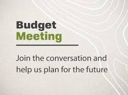 Budget Meeting Plan for the Future