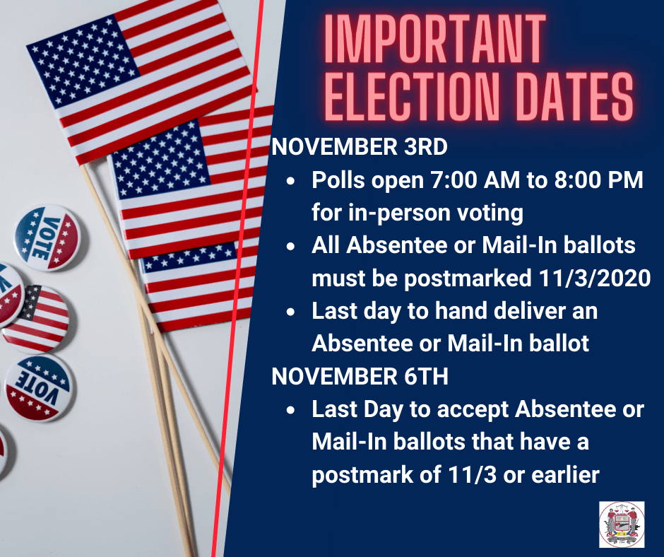 Updated Election Dates