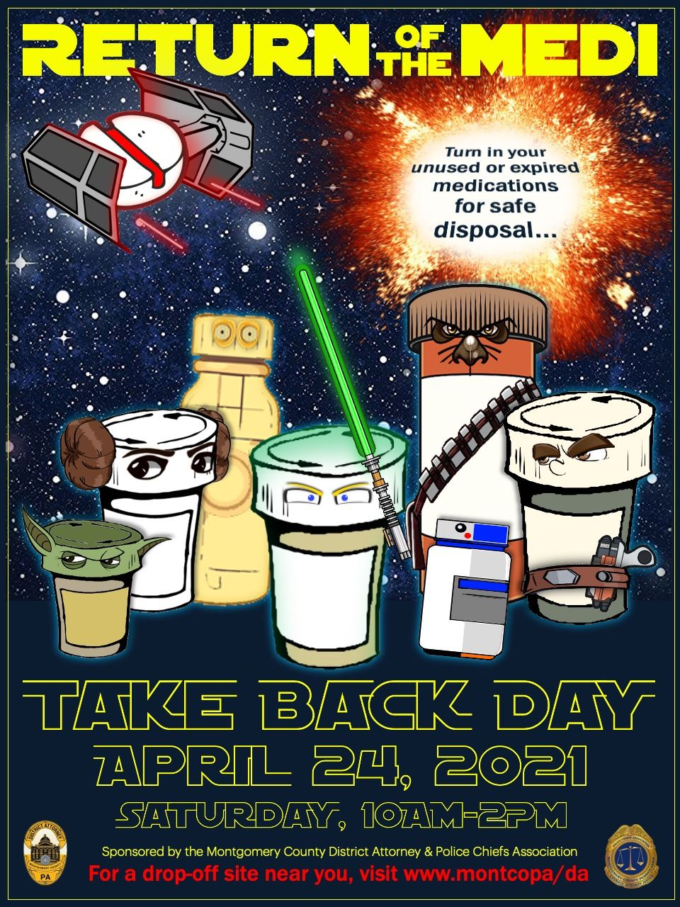 April 2021 Take Back Day poster Opens in new window