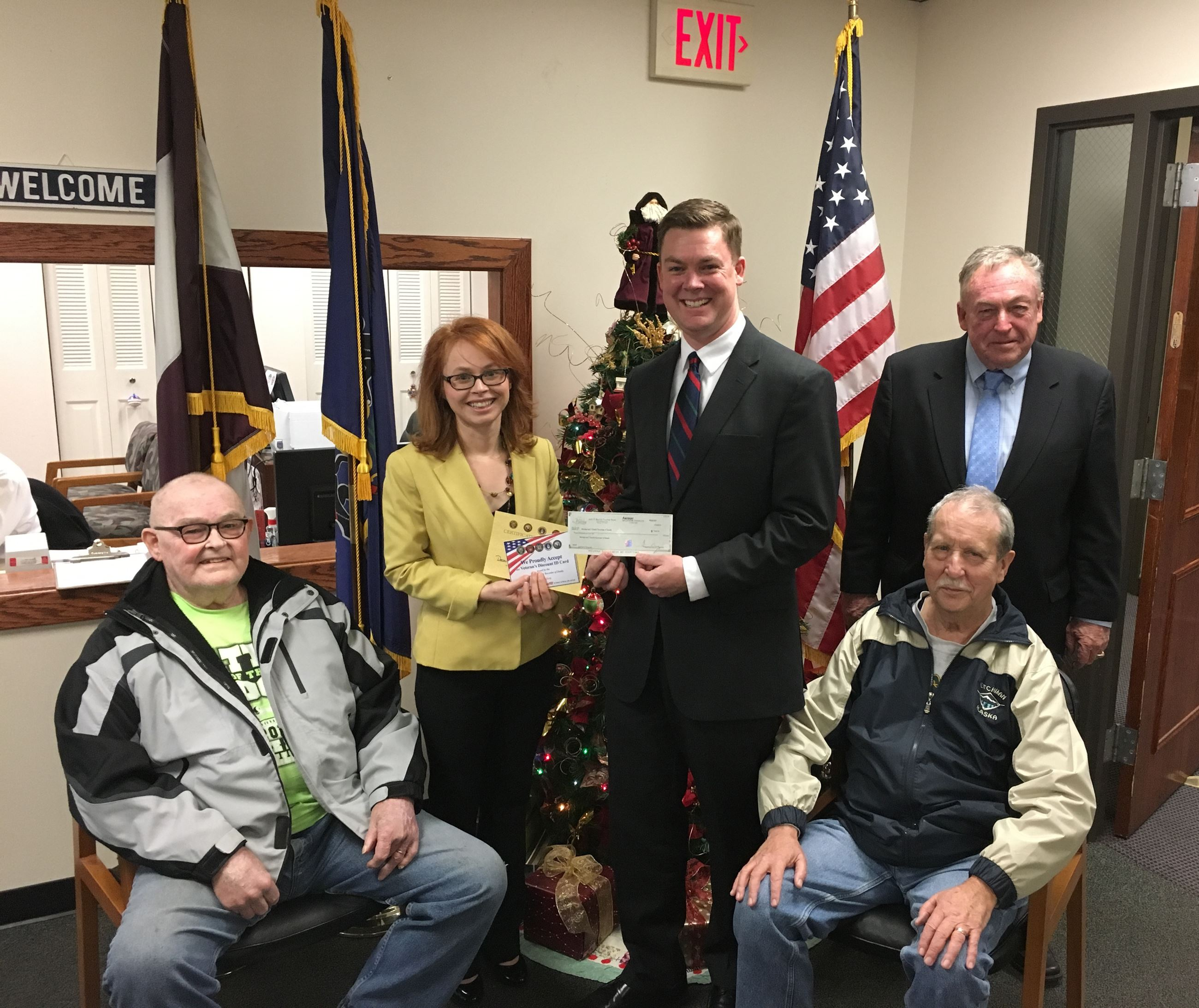 Murray Funeral Home Check Presentation