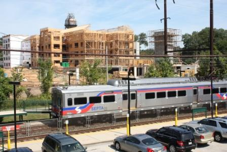 Transit-oriented development and train